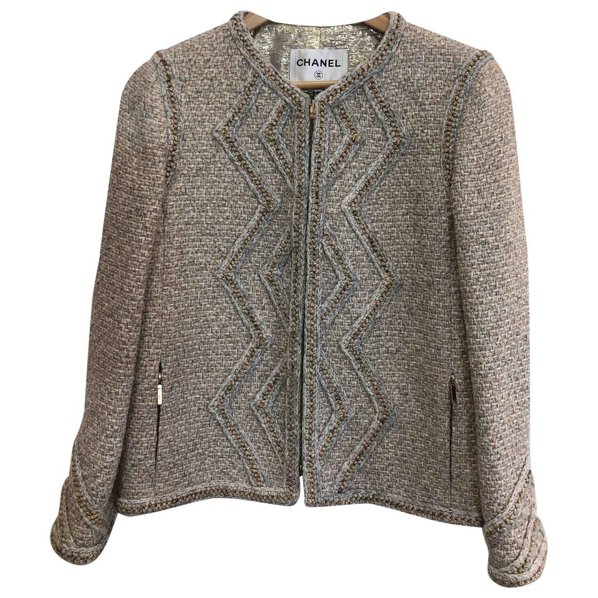 Chanel \N Grey Wool jacket for Women 40 FR