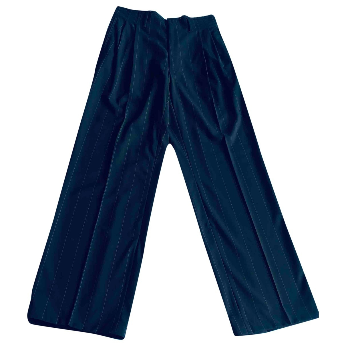 Gucci \N Blue Trousers for Men 50 IT