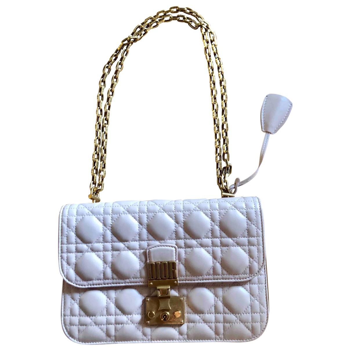 Dior DiorAddict Pink Leather handbag for Women \N
