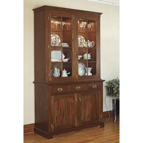 Woodworking Project Paper Plan to Build Heirloom China Cabinet
