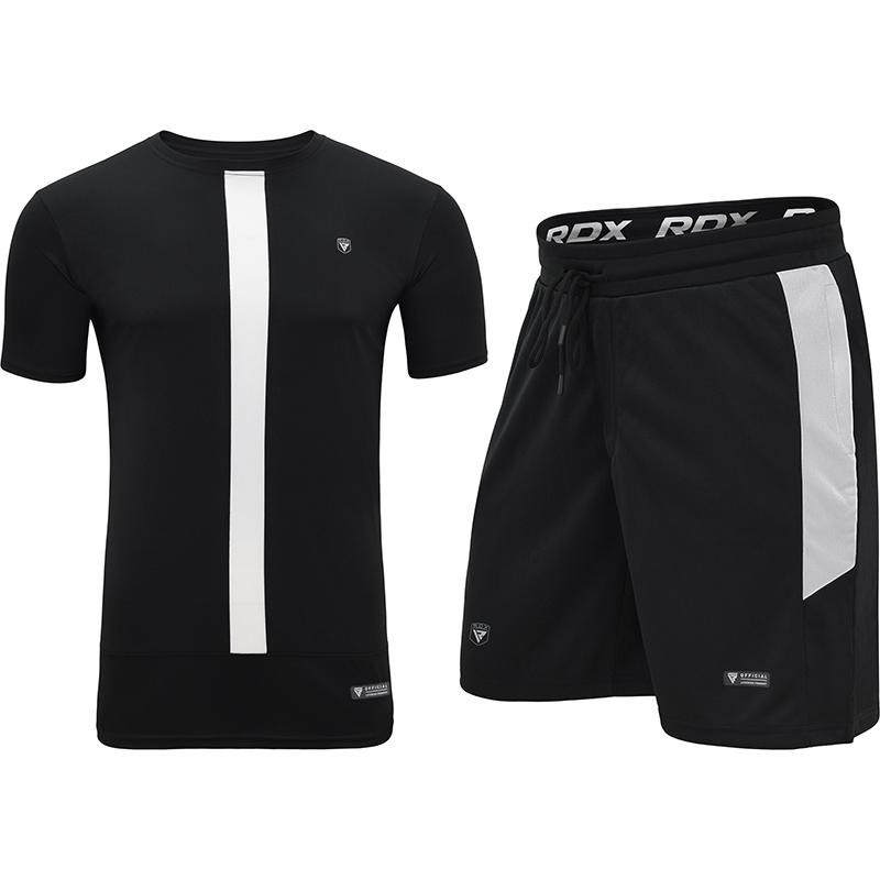 RDX T15 Nero T-Shirt and Short Set Black / White