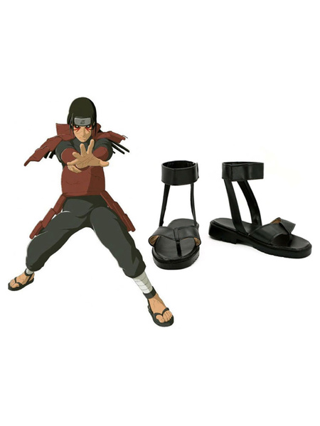 Milanoo Naruto First Hokage Senju Hashirama Sandals Anime Cosplay Shoes