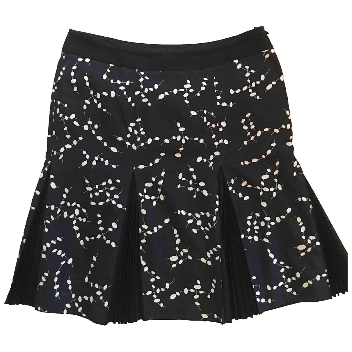 Emporio Armani \N Black Cotton - elasthane skirt for Women 44 IT