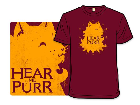 House Lannispurrr T Shirt