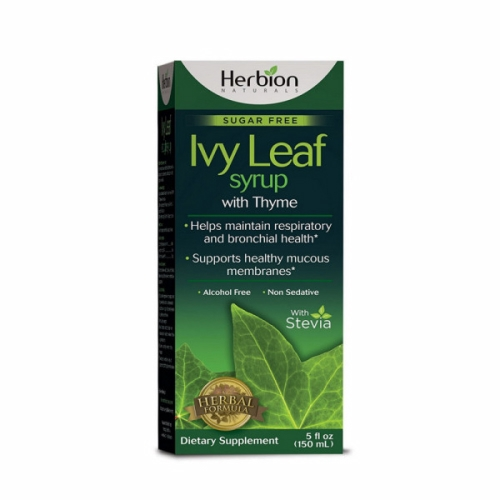 Ivy Leaf Cough Syrup with Thyme 5 Oz by Herbion