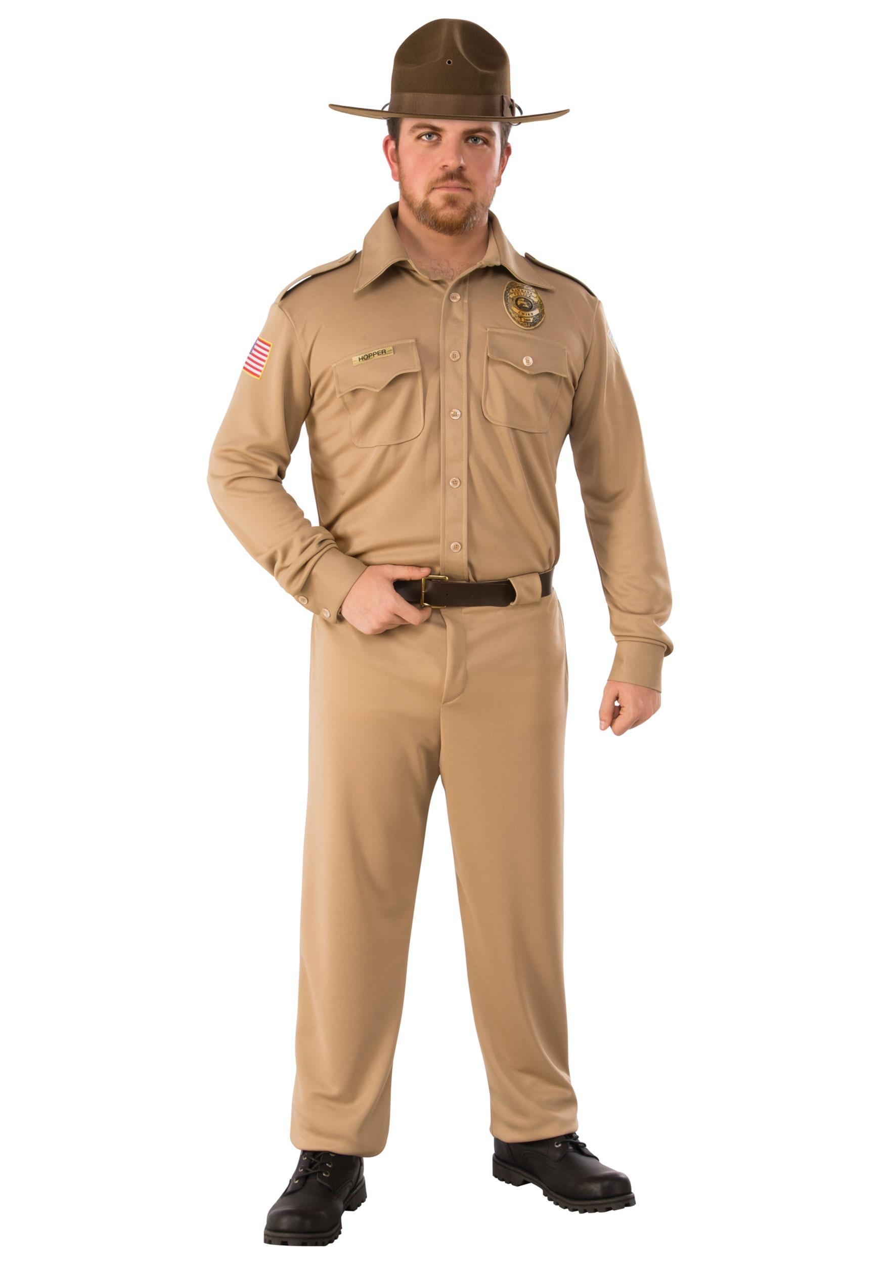 Stranger Things Jim Hopper Adult Costume