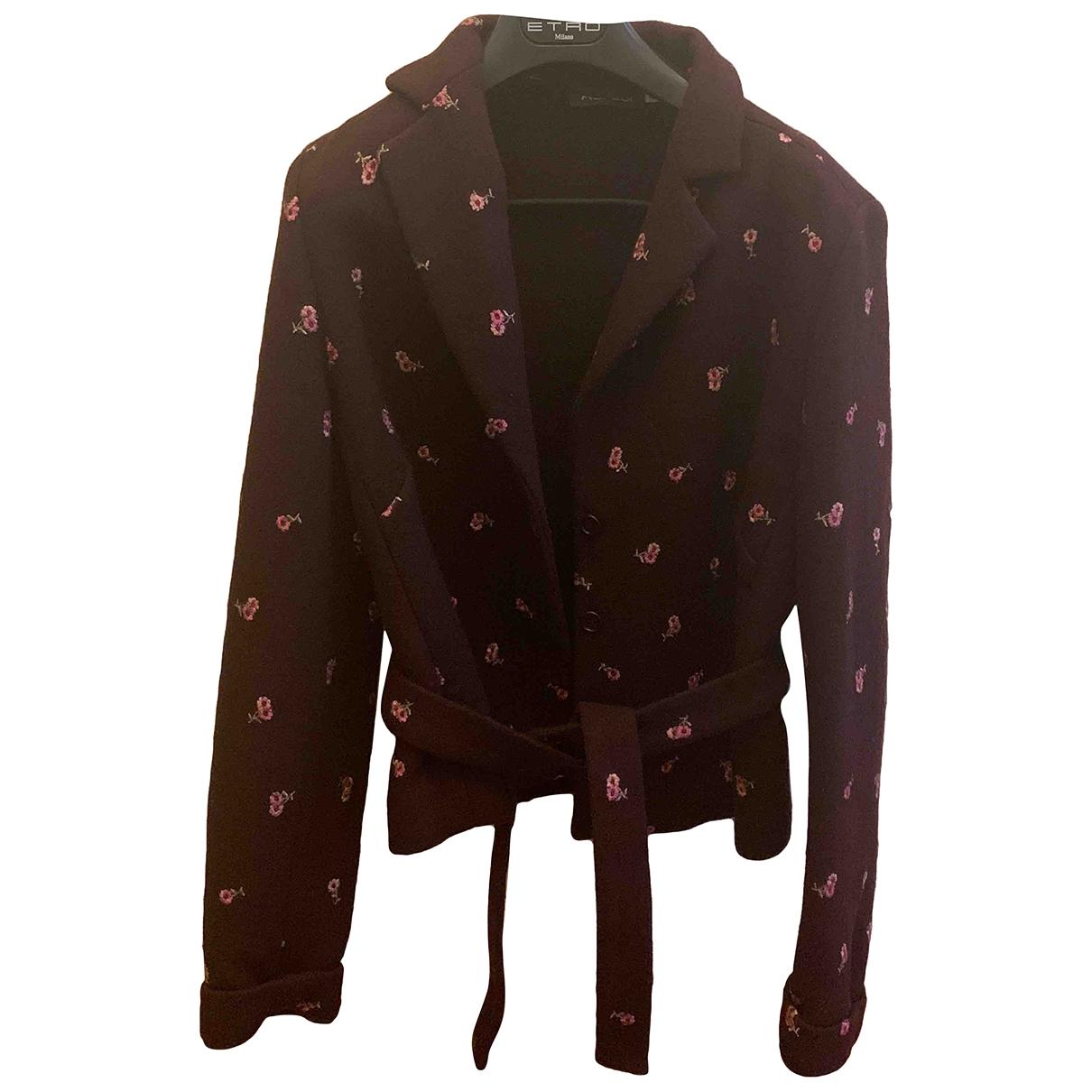 Aspesi \N Purple Wool jacket for Women 44 IT