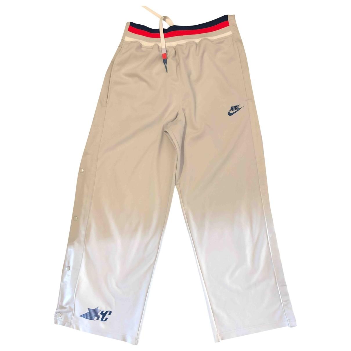 Nike \N Grey Trousers for Women M International