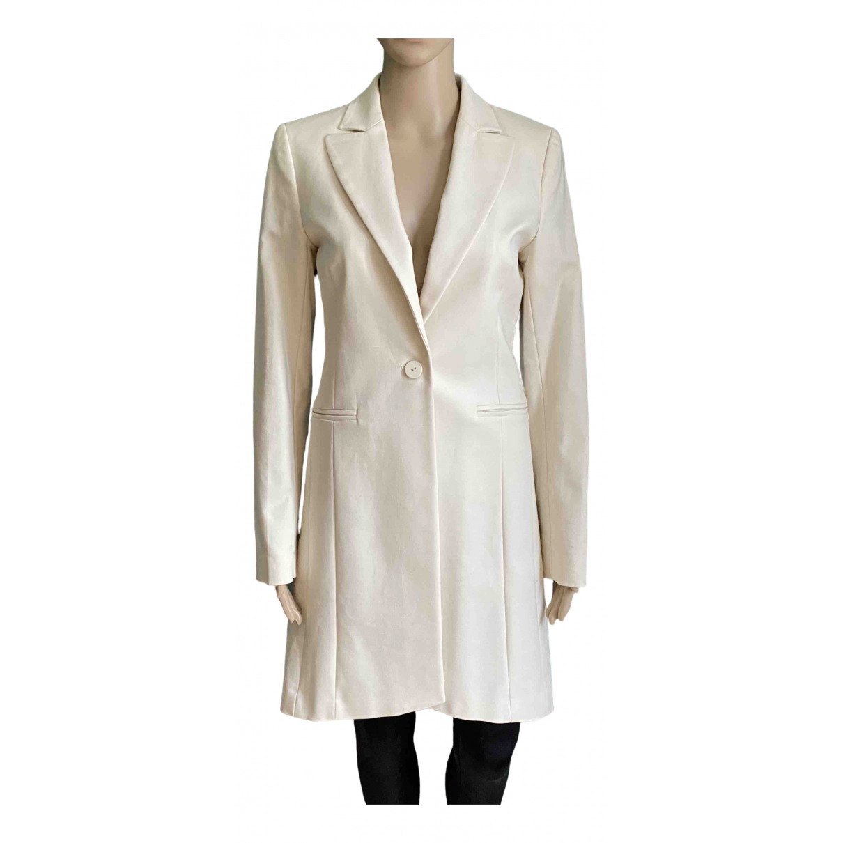 Twin Set \N Ecru Cotton coat for Women S International