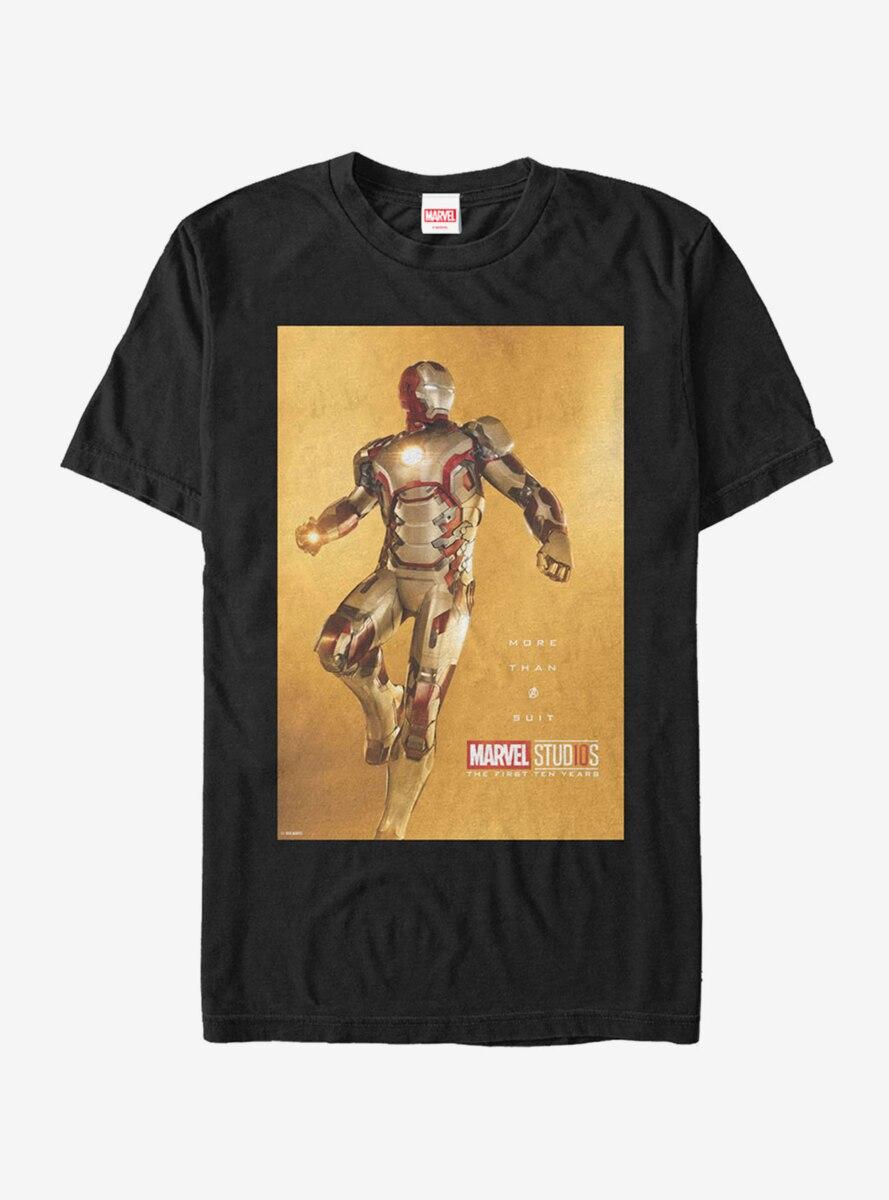 Marvel 10 Years Anniversary Iron Man T-Shirt
