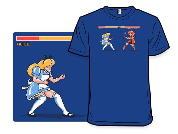 Wonderland Fights T Shirt
