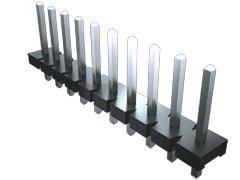 Samtec , HPM, 4 Way, 1 Row, Straight PCB Header (1000)