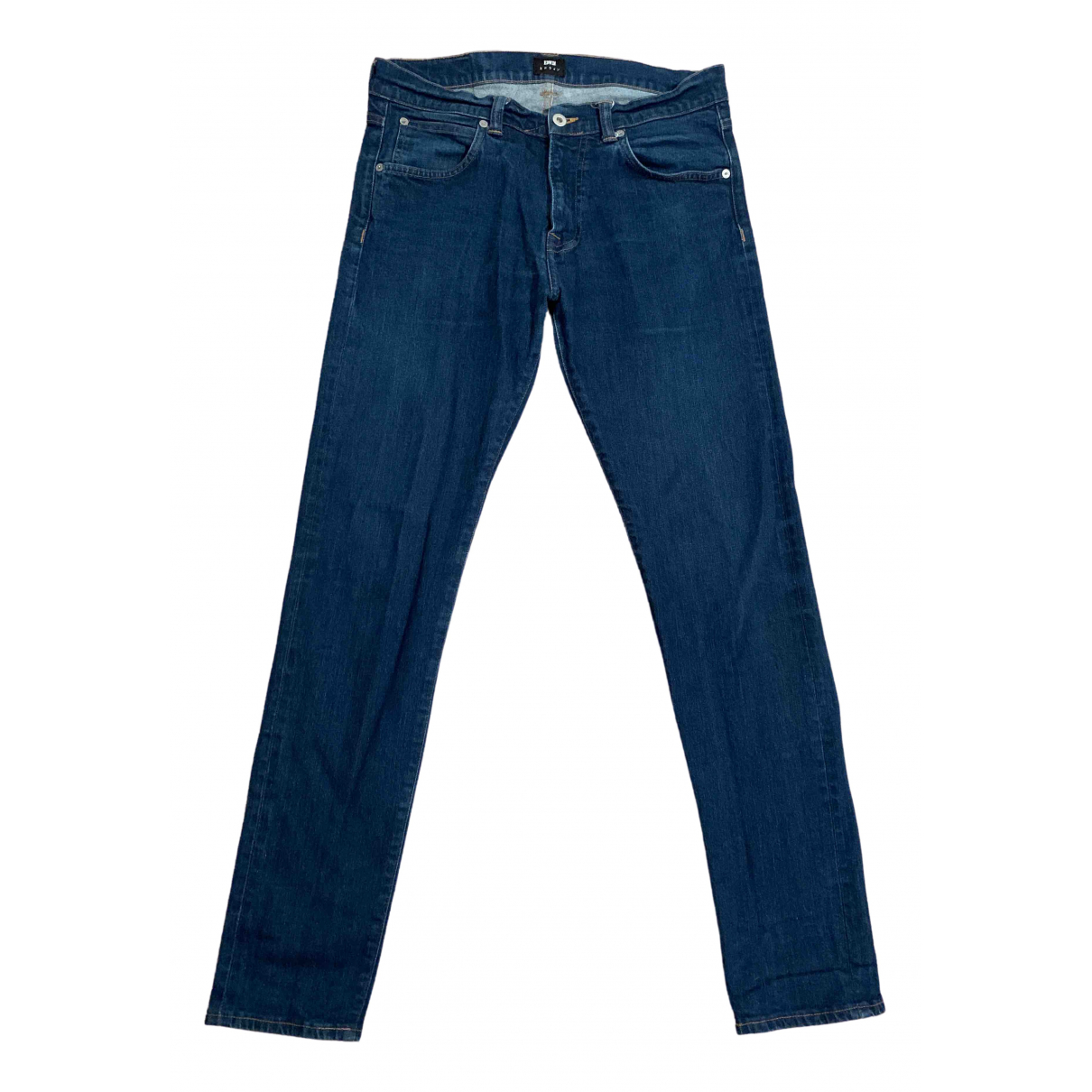 Edwin \N Blue Cotton - elasthane Jeans for Men 33 US