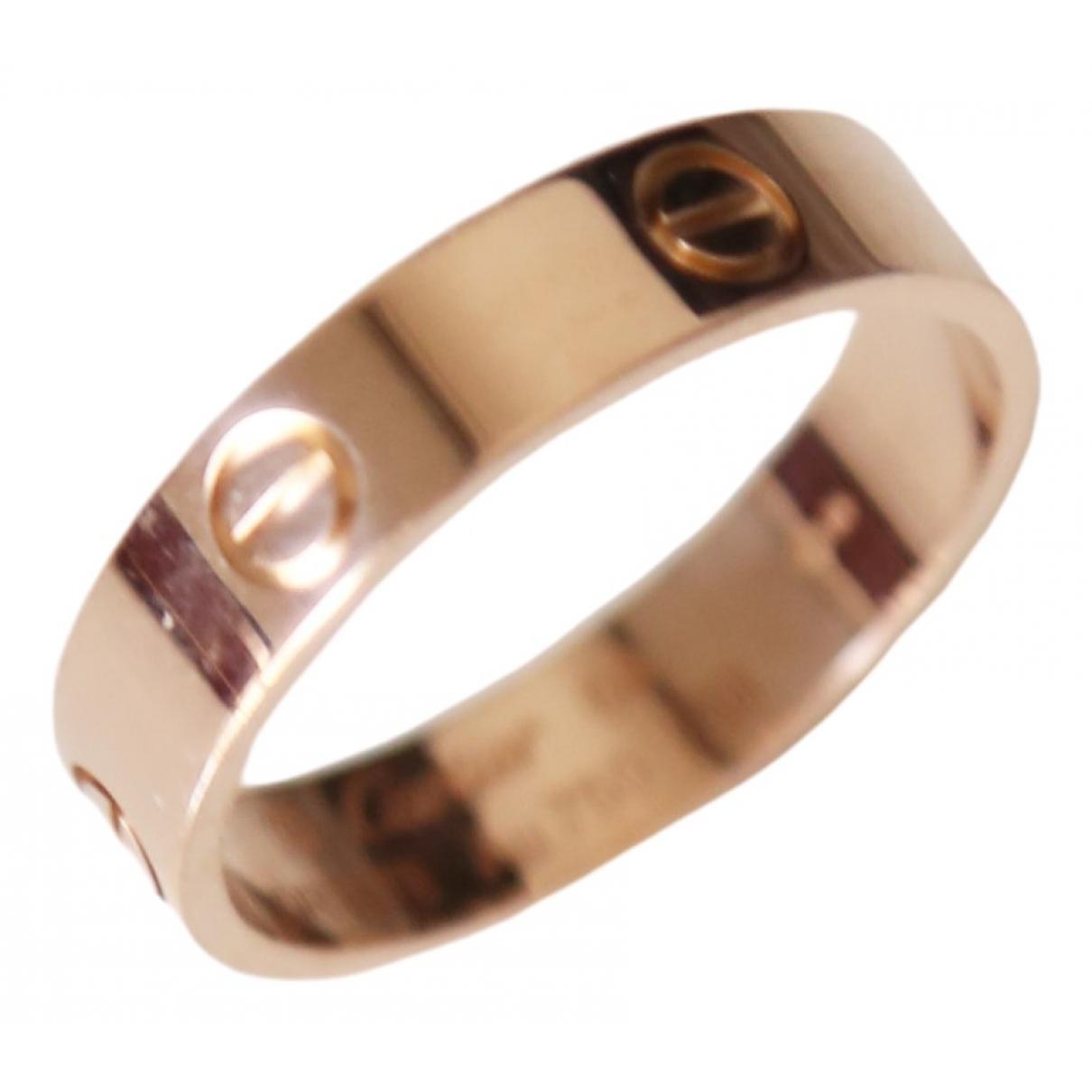 Cartier Love Pink gold Jewellery for Men \N
