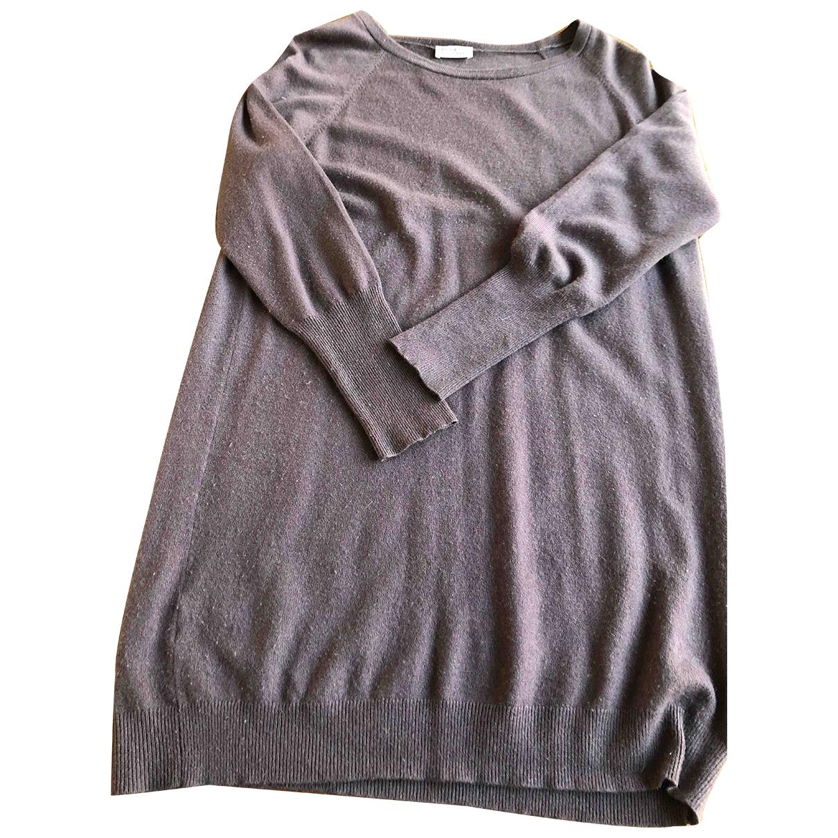 Brunello Cucinelli \N Burgundy Cashmere Knitwear for Women 44 IT