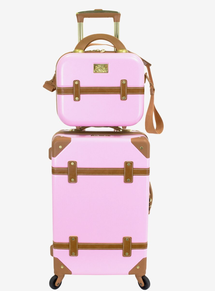 Gatsby Carry On And Beauty Pink Case Set