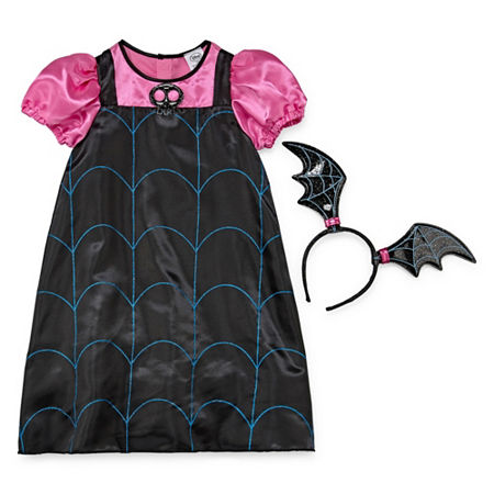 Disney Vampirina Dress Up Costume Girls, 3 , Black