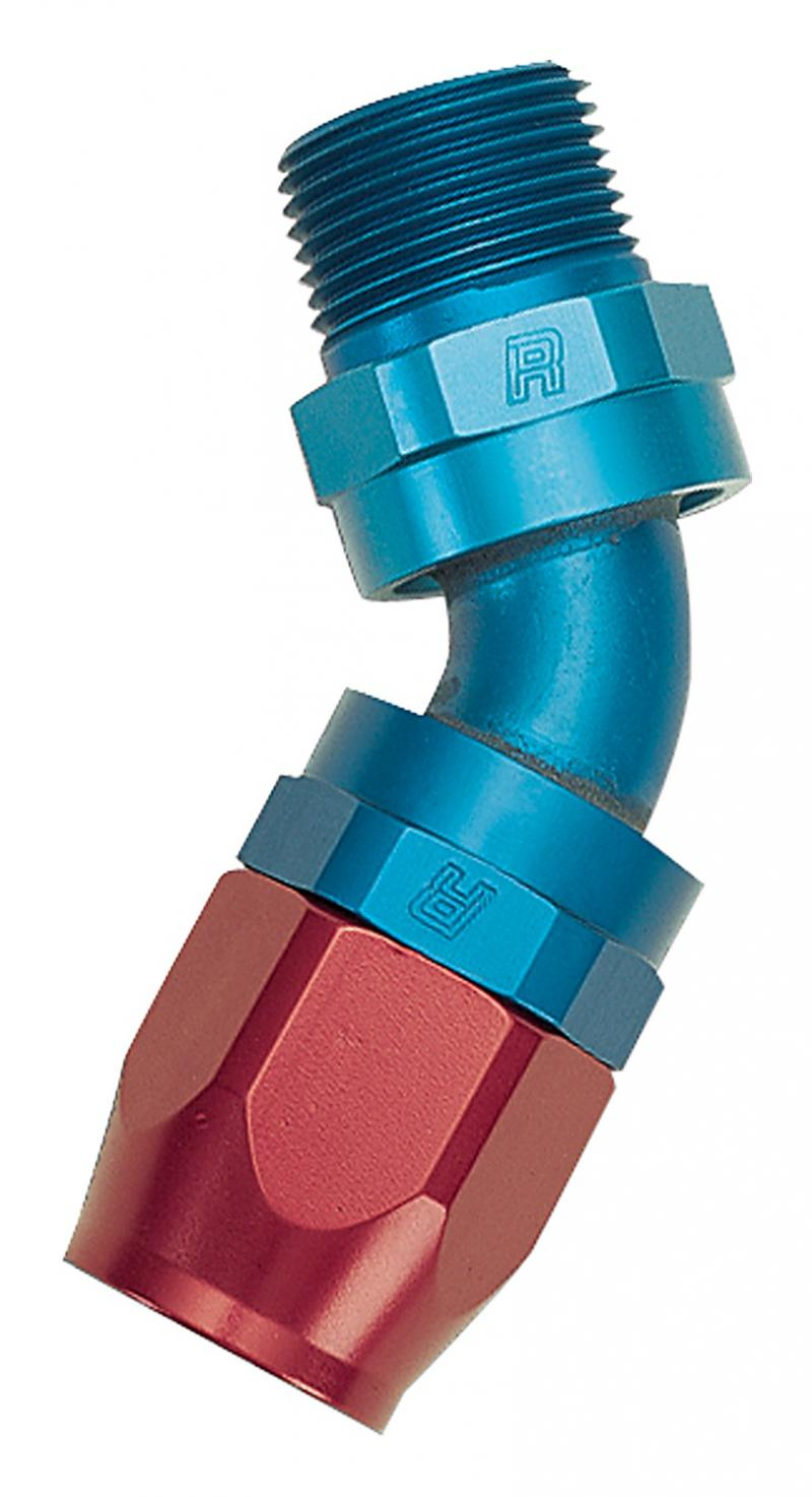 Russell FULL FLOW SWIVEL-6 1/8 PIPE THREAD 45 ANODIZED