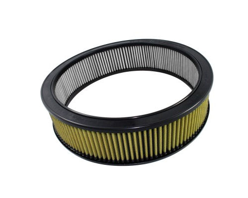 aFe Power Magnum FLOW Round Racing Pro Guard 7 Air Filter 17.13 inch OD x 14.5 inch ID x 4 inch H with Expanded Metal