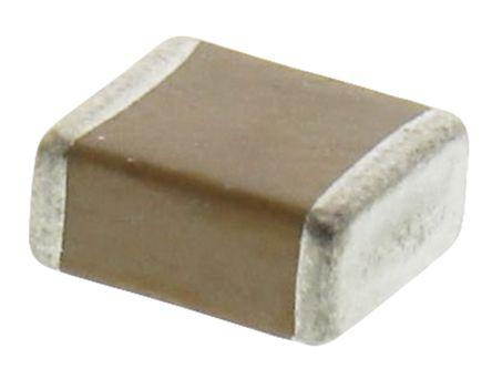AVX 2220 (5650M) 10μF Multilayer Ceramic Capacitor MLCC 50V dc ±10% SMD 22205C106KAT2A (5)
