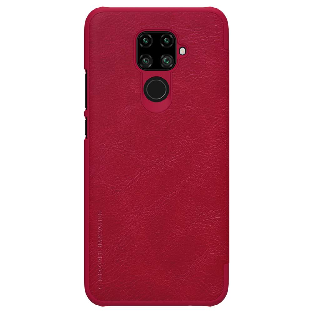 NILLKIN Protective Leather Phone Case For HUAWEI Nova 5i Pro Smartphone - Red