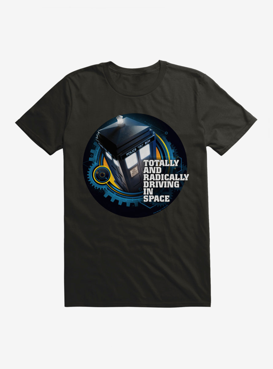 Doctor Who TARDIS Twelfth Doctor Version T-Shirt