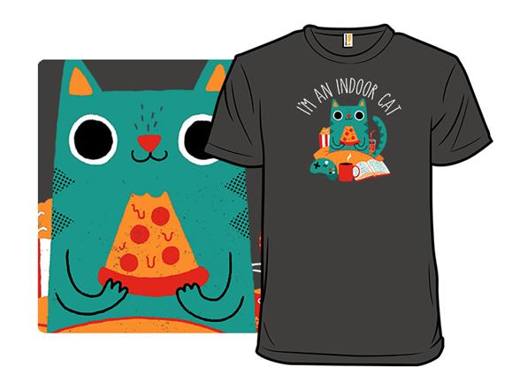 Indoor Cat T Shirt