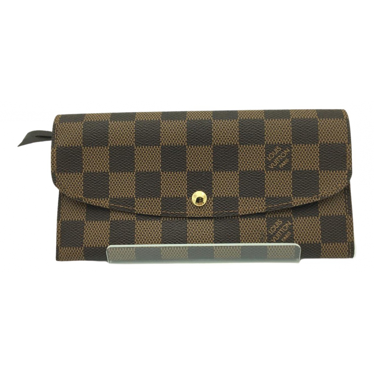 Louis Vuitton Emilie Brown Cloth wallet for Women \N