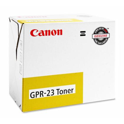 Canon GPR-23Y 0455B003AA Original Yellow Toner Cartridge