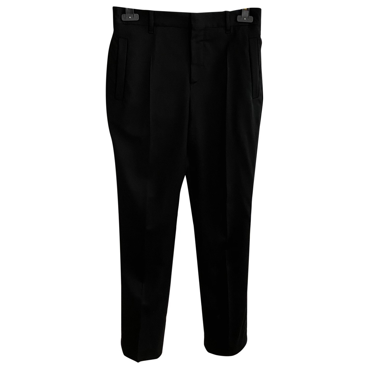 Givenchy \N Black Wool Trousers for Women 36 FR