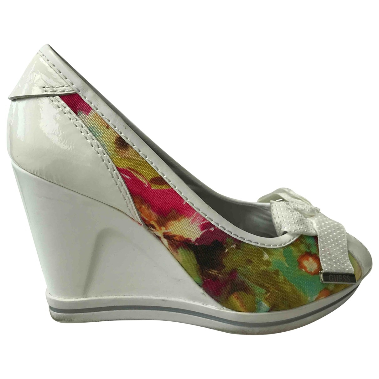 Guess \N Multicolour Patent leather Espadrilles for Women 38 EU