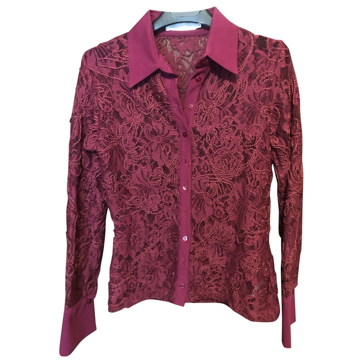Anne Fontaine \N Purple Lace  top for Women 38 FR