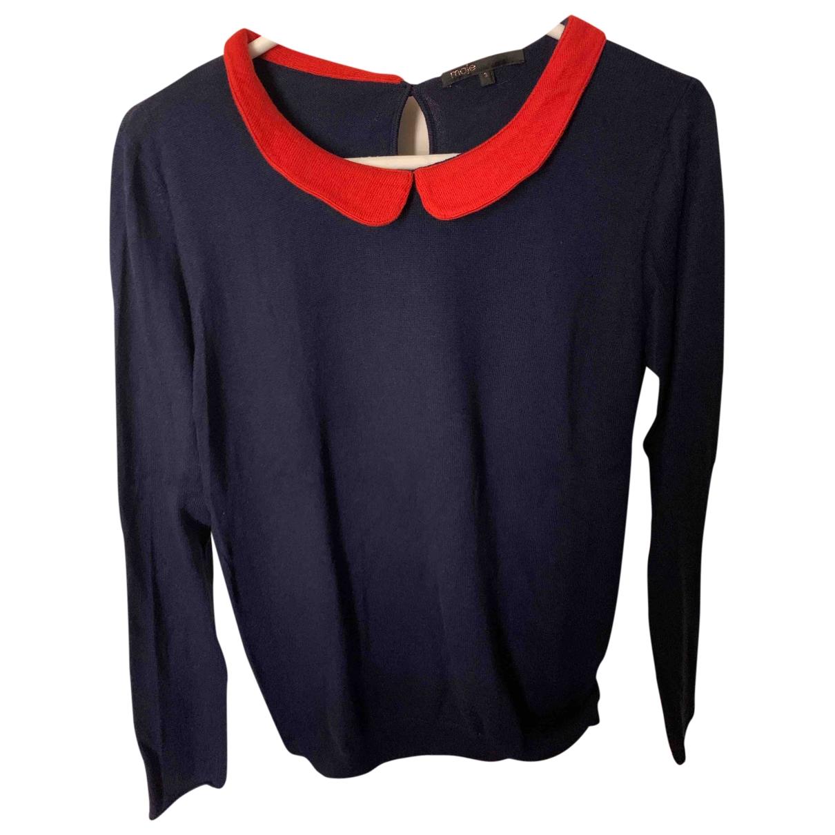 Maje \N Navy Knitwear for Women 3 0-5