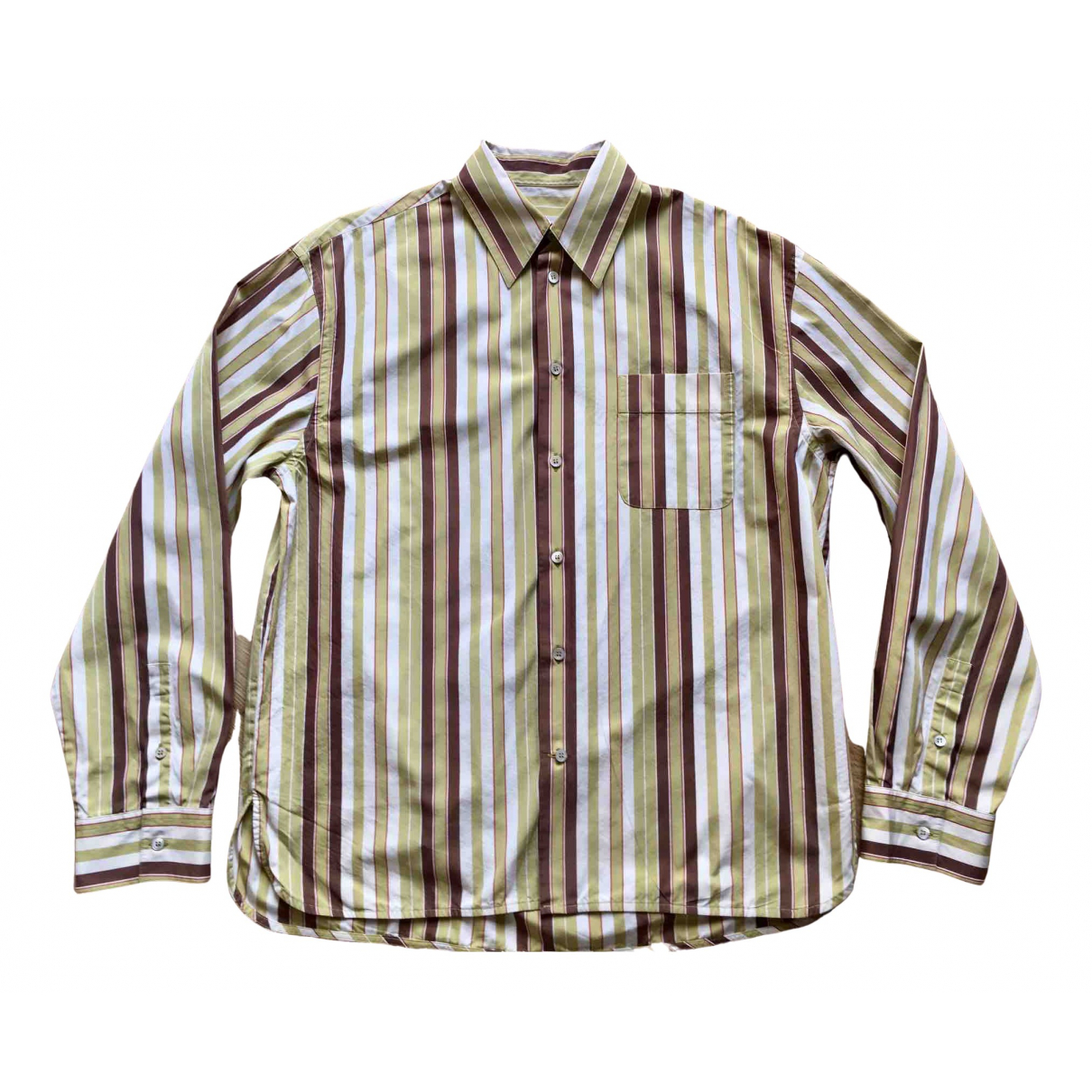 Marni \N Multicolour Cotton Shirts for Men M International