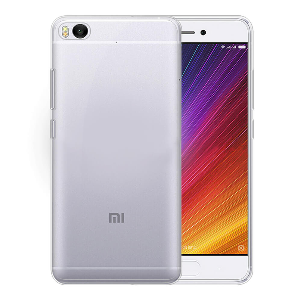 Transparent Xiaomi Mi 5S Soft Case Silicon Back Cover High Quality Protective Phone Shell