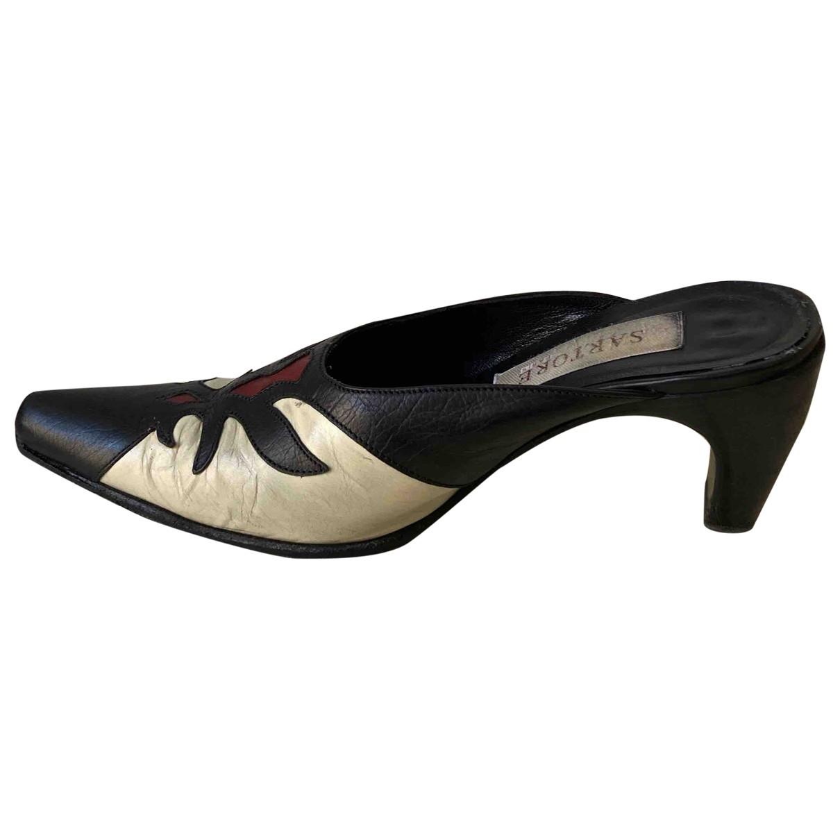 Sartore \N Multicolour Leather Sandals for Women 37.5 EU