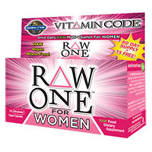 Vitamin Code Raw One for Women 75 Caps by Garden of Life