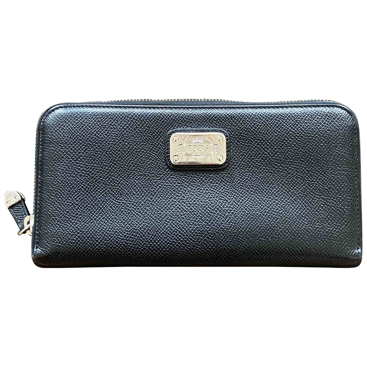 Tod's \N Black Leather Purses, wallet & cases for Women \N