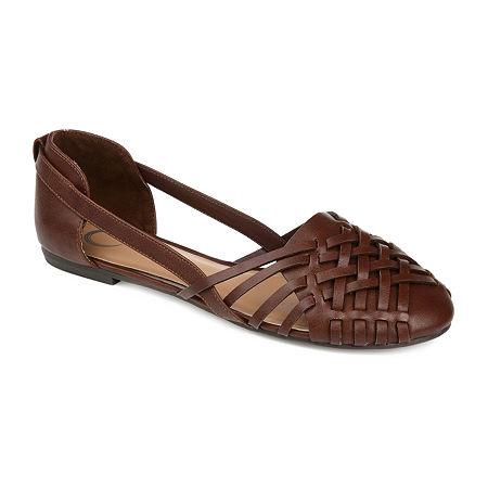 Journee Collection Womens Ekko Slip-On Shoe, 10 Medium, Brown