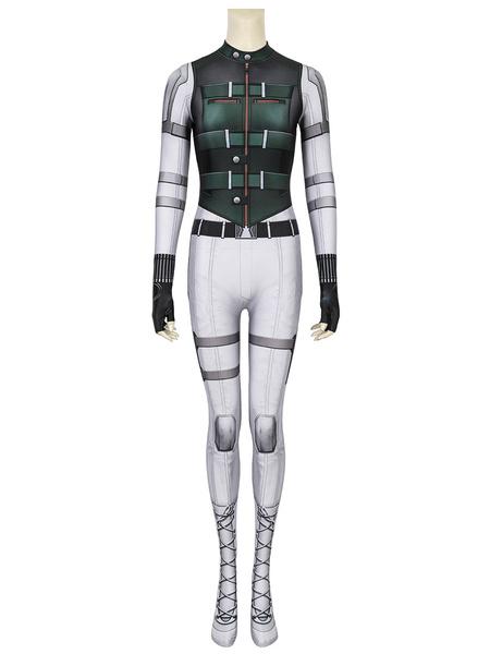 Milanoo Marvel Comics Marvel Black Widow 2020 Yelena Belova Catsuits Cosplay Costume