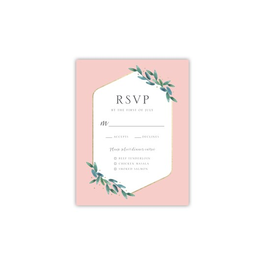 Style Me Pretty Personalized Polished Flora RSVP | Michaels®