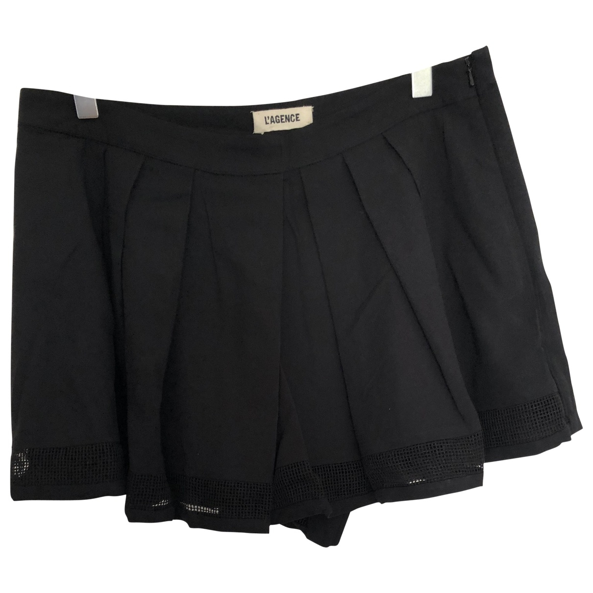 L'agence \N Black Shorts for Women 6 US
