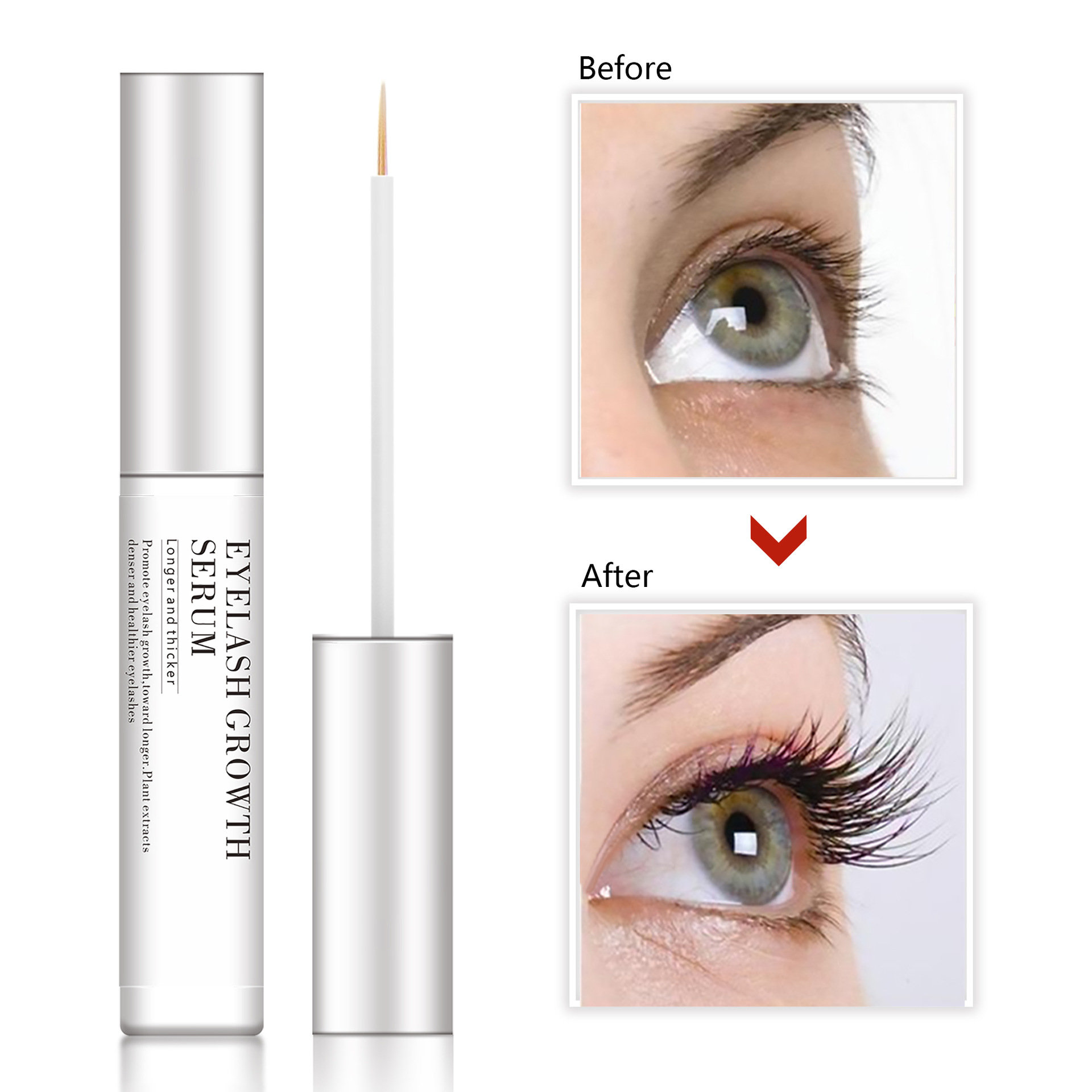 Eyelash Liquid Growth Serum Nutritious Eyelash Essence Rapidly Growth Latisse Cosmetic Beauty