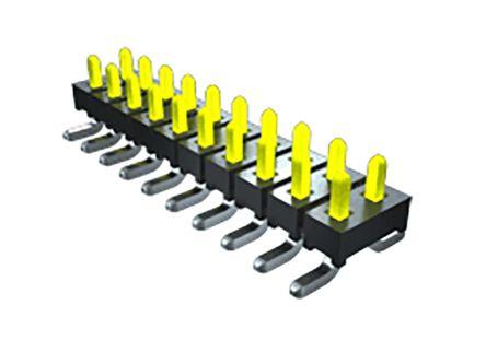 Samtec , TMM, 6 Way, 2 Row, Vertical PCB Header (57)