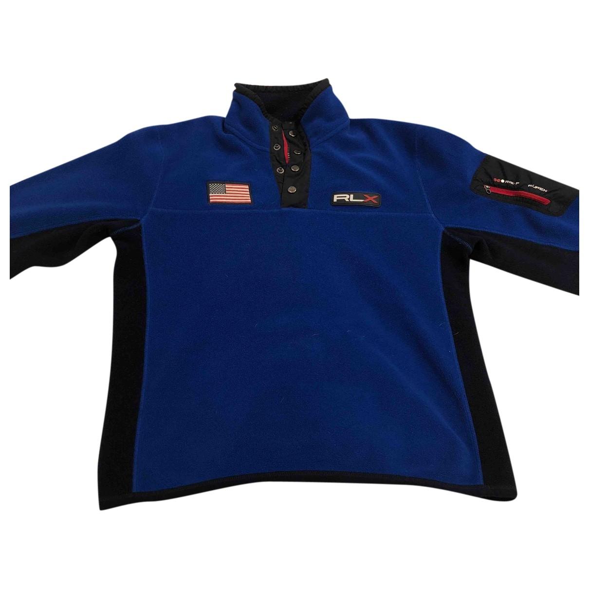 Ralph Lauren Double Rl \N Blue Knitwear & Sweatshirts for Men M International