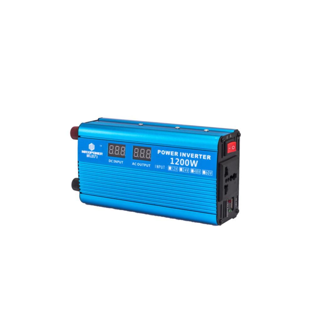 DC12V/24V To AC210-230V 1200W Peak Power Modify Sine Wave Car Inverter