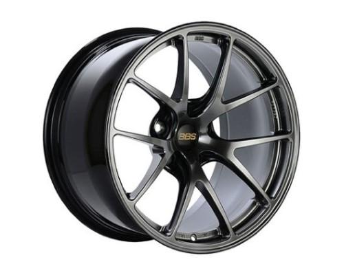 BBS RI-A Wheel 18x8.5 5x120 34mm Diamond Black
