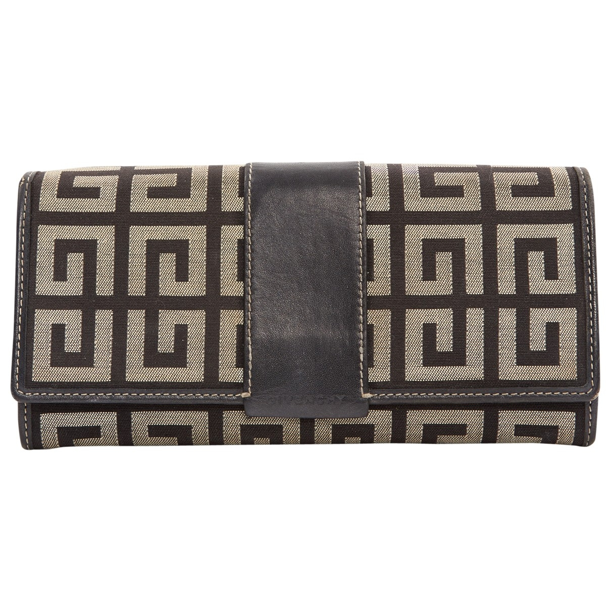 Givenchy \N Brown Cloth Purses, wallet & cases for Women \N