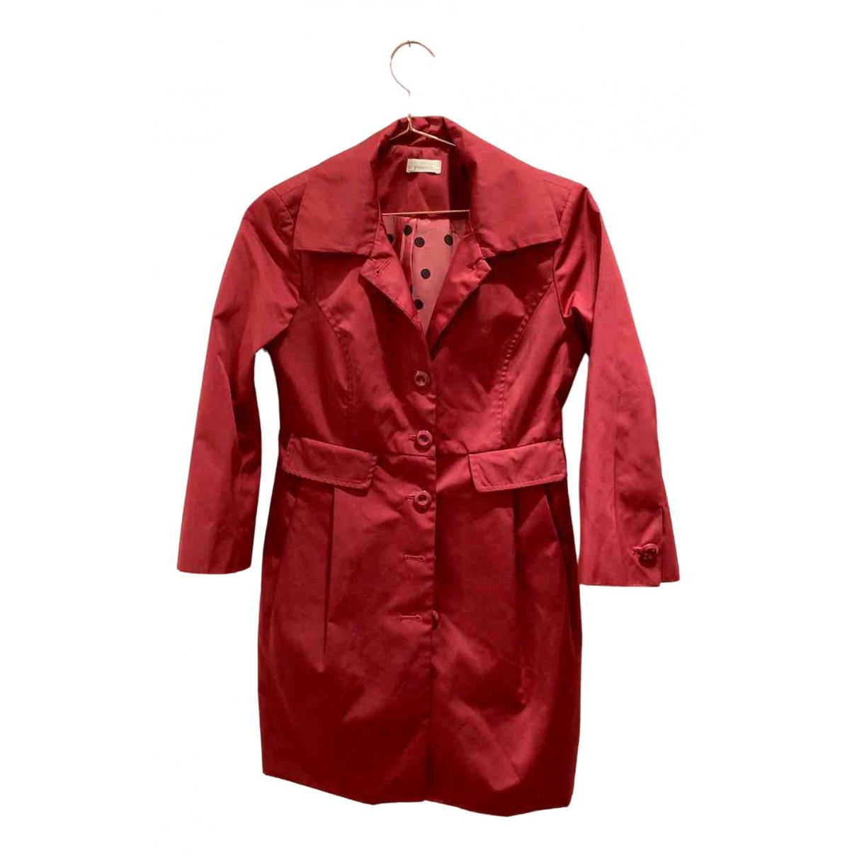 Pinko \N Red coat for Women 42 IT