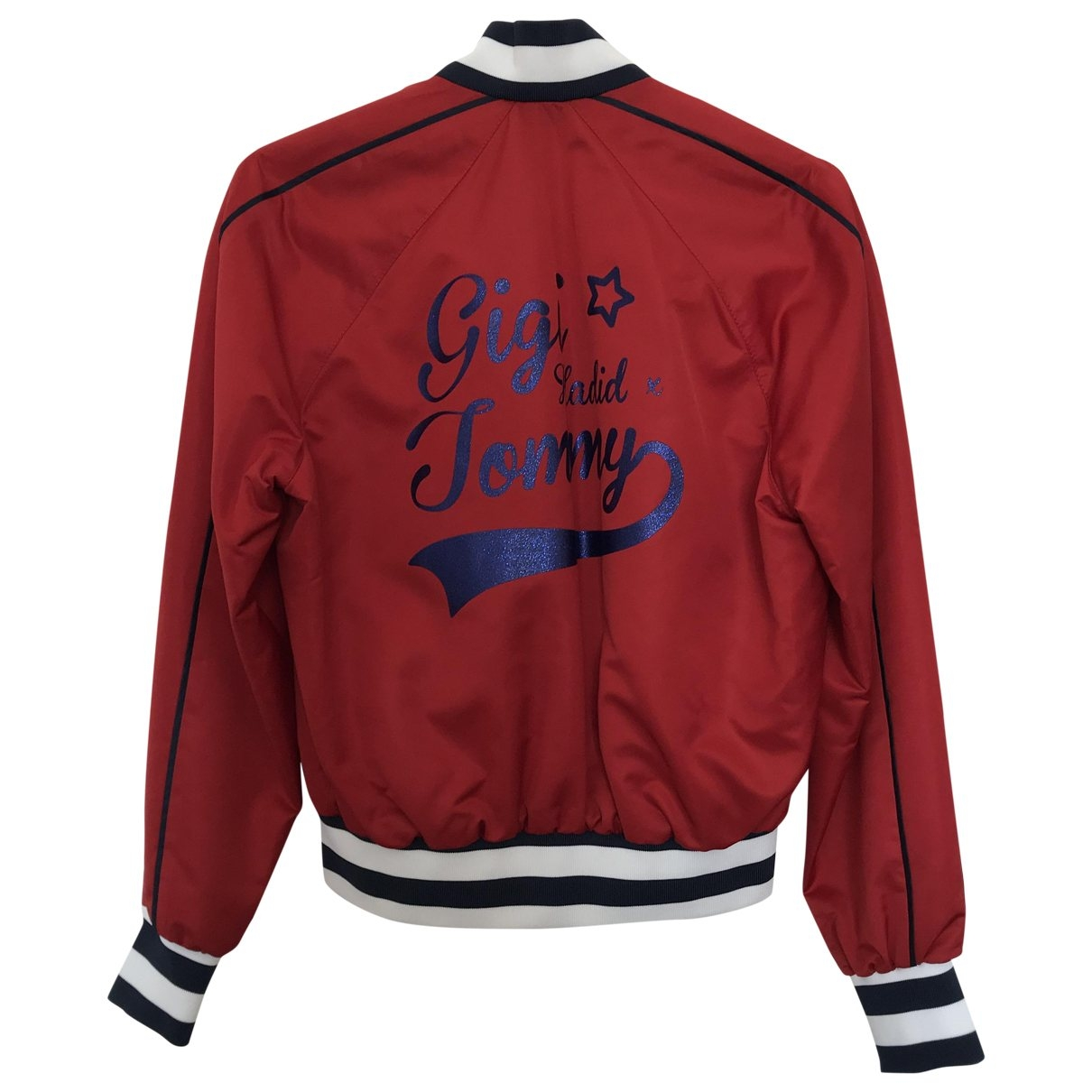 Tommy Hilfiger \N Red Leather jacket for Women XS